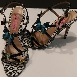 Betsey Johnson Strappy Dressy Sandals